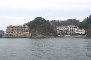 ファミリーホール湘南台の海洋散骨、海上移動の風景